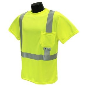Radians® Max-Dri Class 2 Hi Vis T-Shirt with Stretchable Stripes