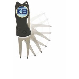 "Switch Blade Style Divot Tool w/ 1"" Ball Marker"