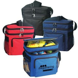 Deluxe Poly Cooler w/Lunch Bag