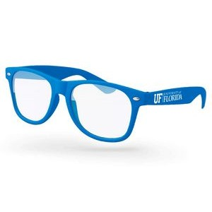 Blue Light Blocking Retro Promotional Glasses w/ 1-color imprint